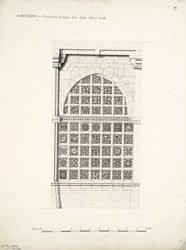 Ahmadabad: Perforated window from Shah Alam's tomb